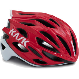 Kask Mojito X Helm rot/weiß